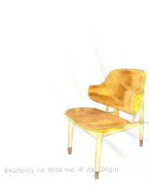 origin wood chair