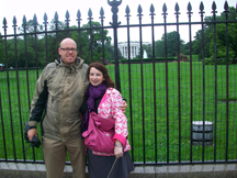 Rainy Day at the White House