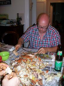mmm . . . crab