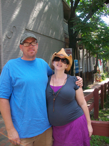 Jeremy and Prego me on Georgetown canal
