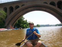 Jeremy the canoe driver