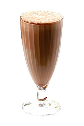 chocolate milkshake no whip topping or cherry please!