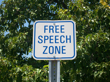 America - Free Speech Zone
