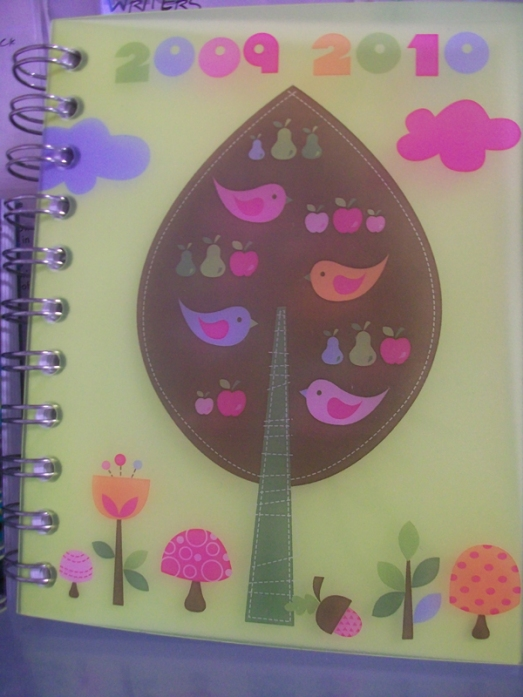 Birds on a tree journal cover
