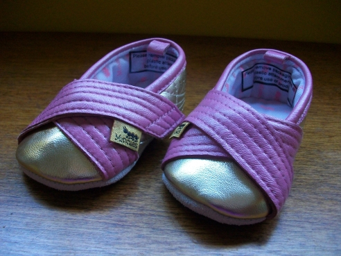 These are gold and pink - for night time dancing