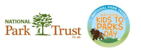 National Park Trust National Kids to Parks Day Logo. (PRNewsFoto/National Park Trust)