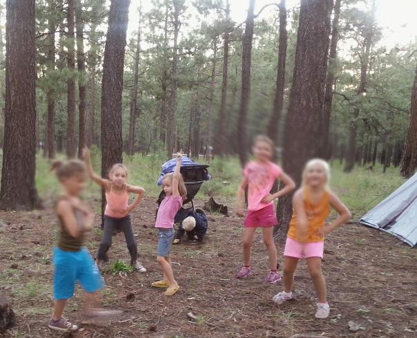 outdoor dance party